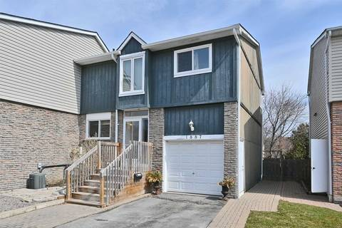 Townhouse for sale at 1887 Hensall Ct Pickering Ontario - MLS: E4732758