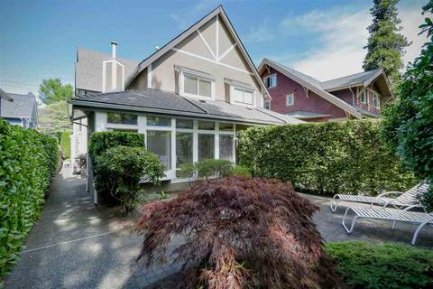 Townhouse for sale at 1887 13th Ave W Vancouver British Columbia - MLS: R2402653