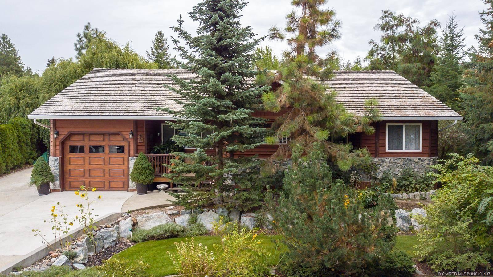 House for sale at 1889 Canyon Ridge Ct Kelowna British Columbia - MLS: 10191437