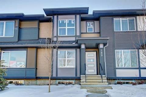 Townhouse for sale at 189 Fireside Wy Cochrane Alberta - MLS: C4278699