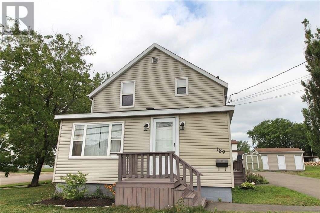 House for sale at 189 Killam Dr Moncton New Brunswick - MLS: M129903