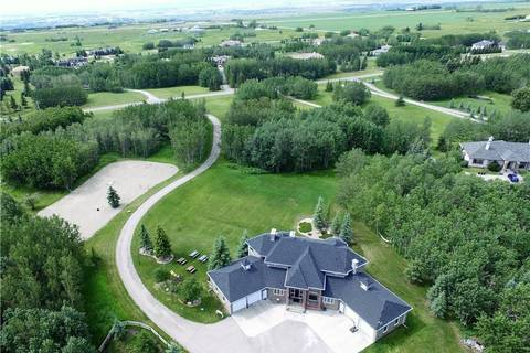 House for sale at 189 Lochend Dr Bearspaw_calg, Rural Rocky View County Alberta - MLS: C4232502