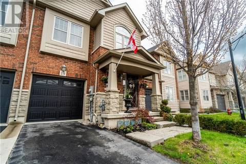 Townhouse for sale at 10 Pumpkin Pass Unit 19 Binbrook Ontario - MLS: 30735227