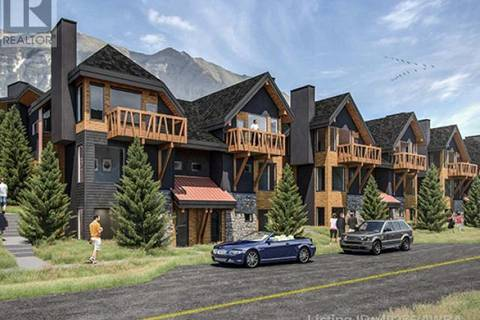 Townhouse for sale at 1200 Three Sisters Pw Unit 19 Canmore Alberta - MLS: 49256