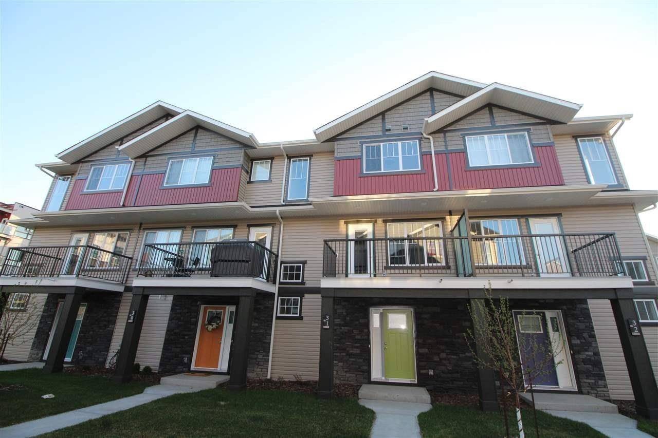 Townhouse for sale at 12815 Cumberland Rd Nw Unit 19 Edmonton Alberta - MLS: E4180589