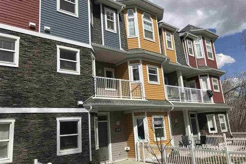 Townhouse for sale at 150 Everitt Dr N Unit 19 St. Albert Alberta - MLS: E4140989