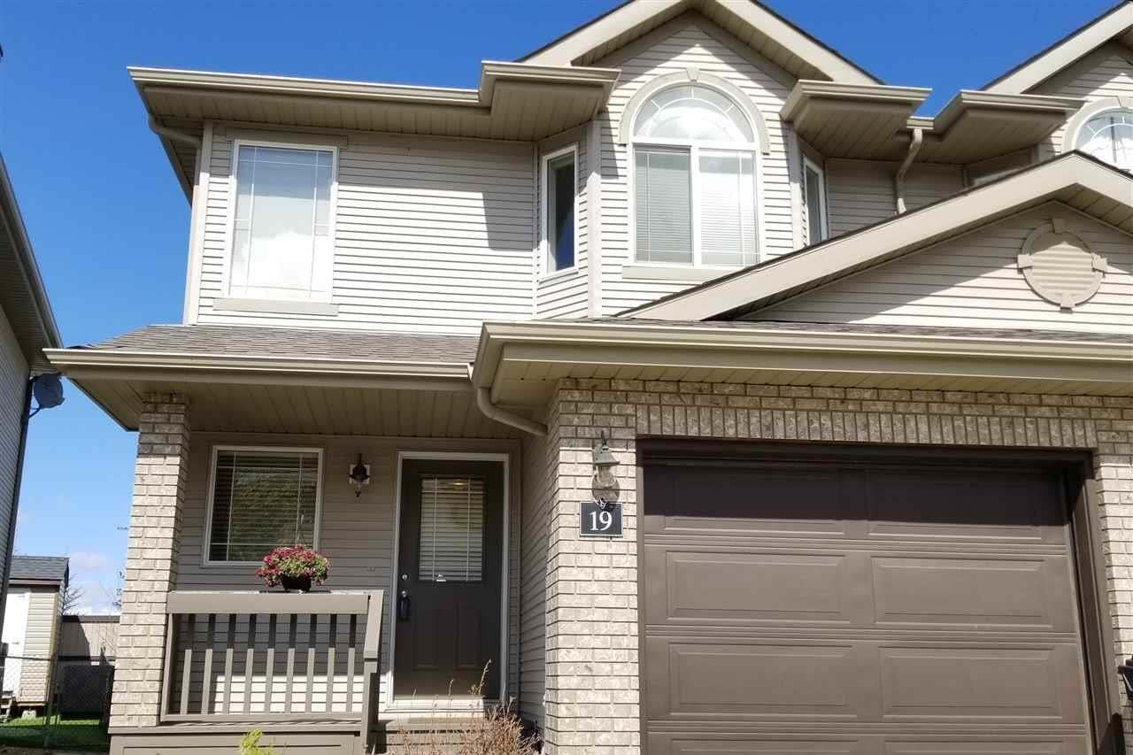 Townhouse for sale at 155 Crocus Cr Unit 19 Sherwood Park Alberta - MLS: E4198844