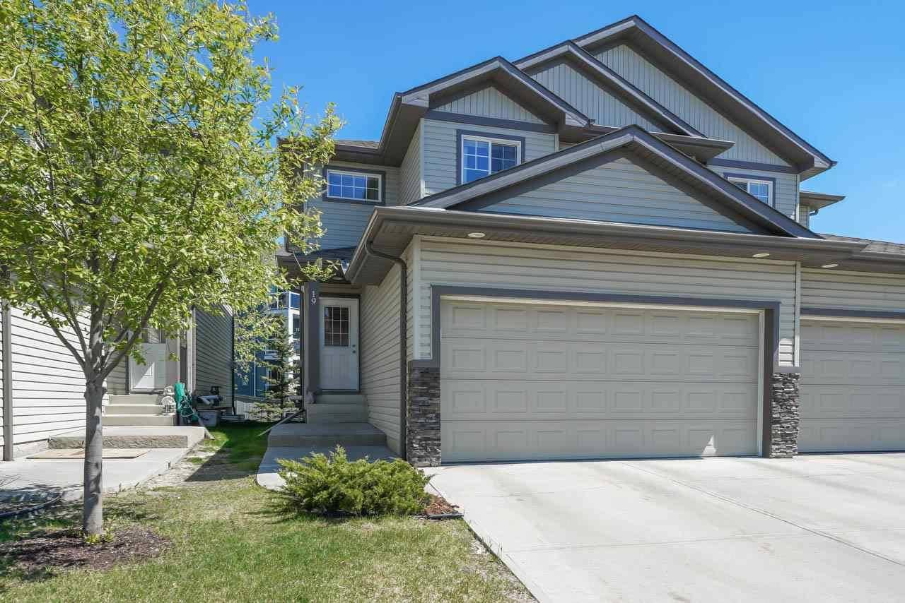 Townhouse for sale at 16003 132 St Nw Unit 19 Edmonton Alberta - MLS: E4170757