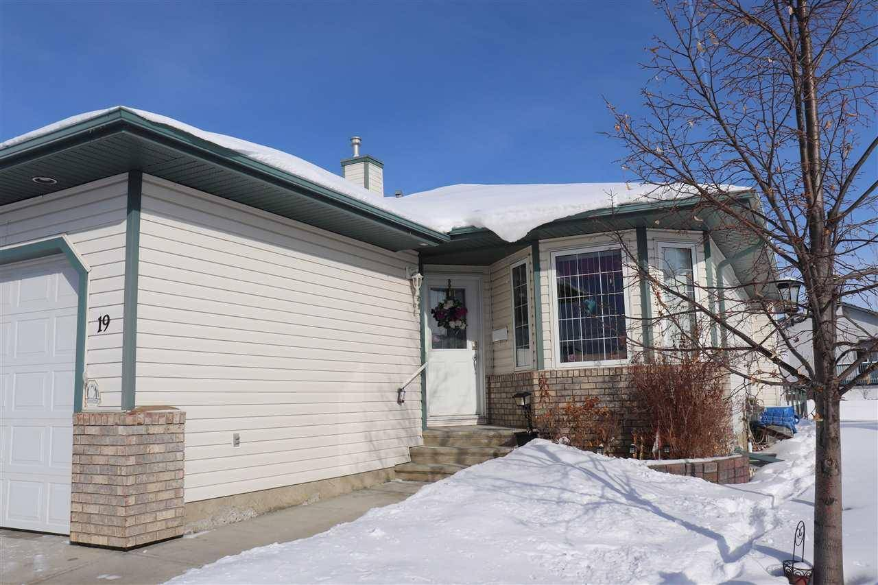 Townhouse for sale at 16415 77 St Nw Unit 19 Edmonton Alberta - MLS: E4188257