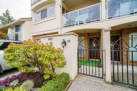 Townhouse for sale at 1767 130 St Unit 19 Surrey British Columbia - MLS: R2418648