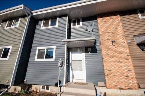 Townhouse for sale at 5806 61 St Unit 19 Red Deer Alberta - MLS: C4292017