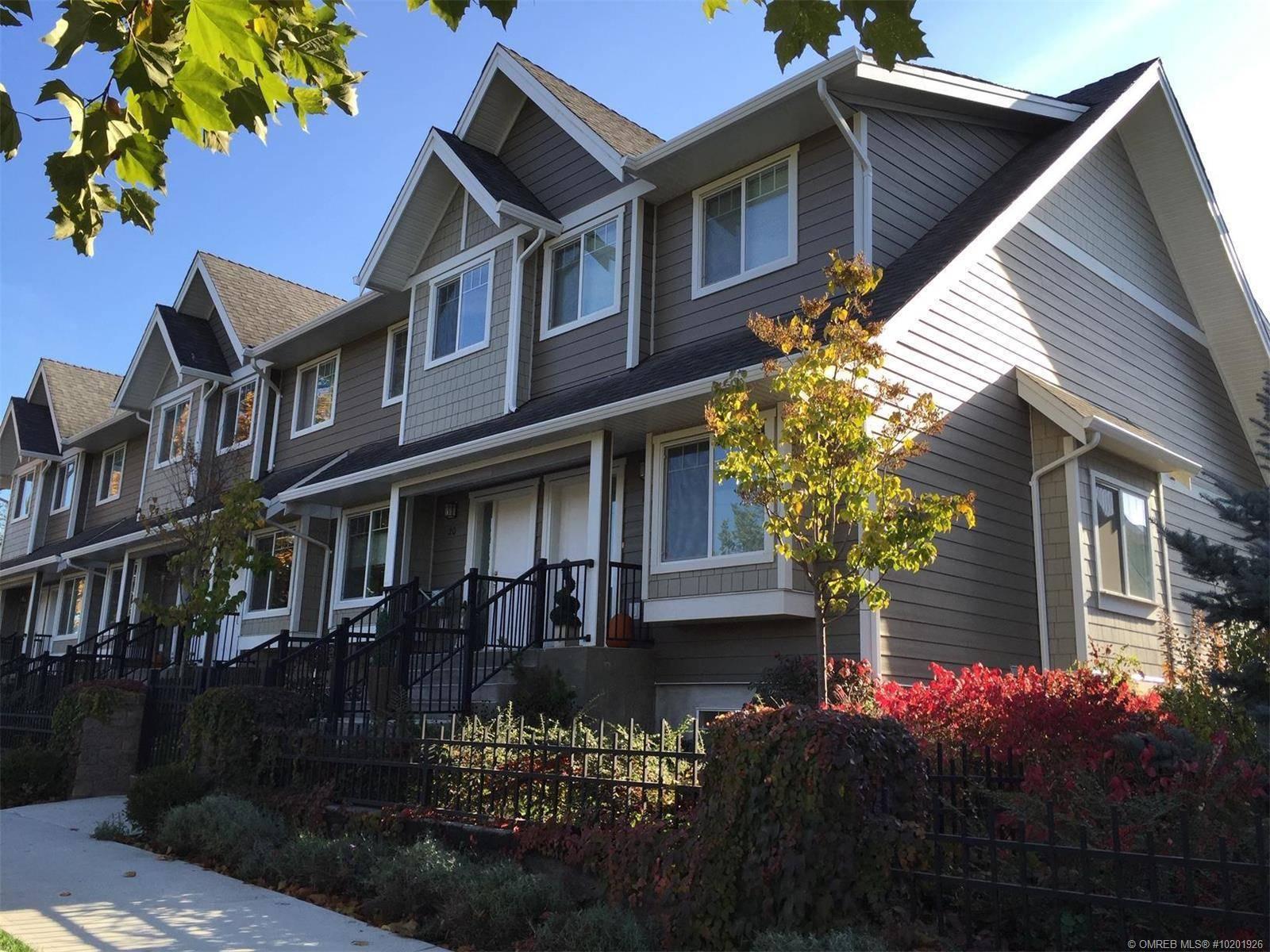 Townhouse for sale at 600 Sherwood Rd Unit 19 Kelowna British Columbia - MLS: 10201926
