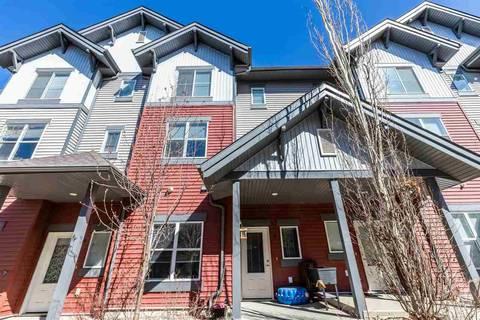 Townhouse for sale at 655 Watt Blvd Sw Unit 19 Edmonton Alberta - MLS: E4154165