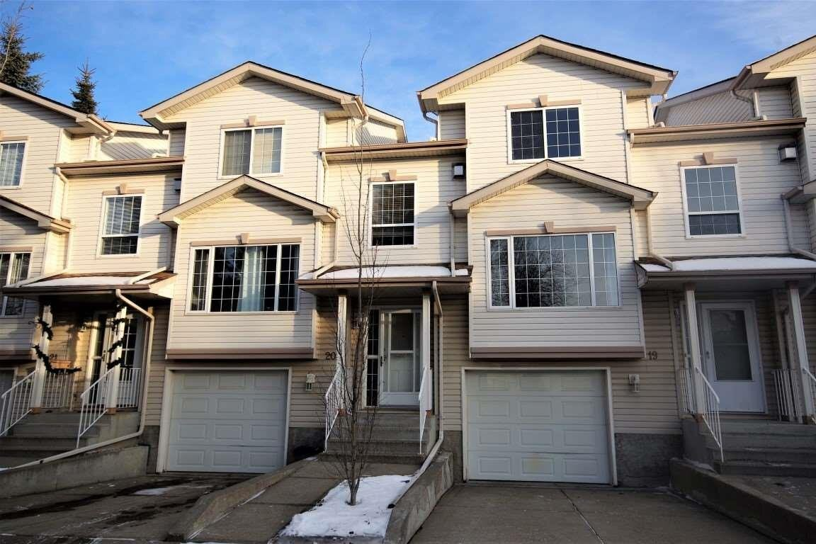 Townhouse for sale at 9935 167 St NW Unit 19 Edmonton Alberta - MLS: E4223338