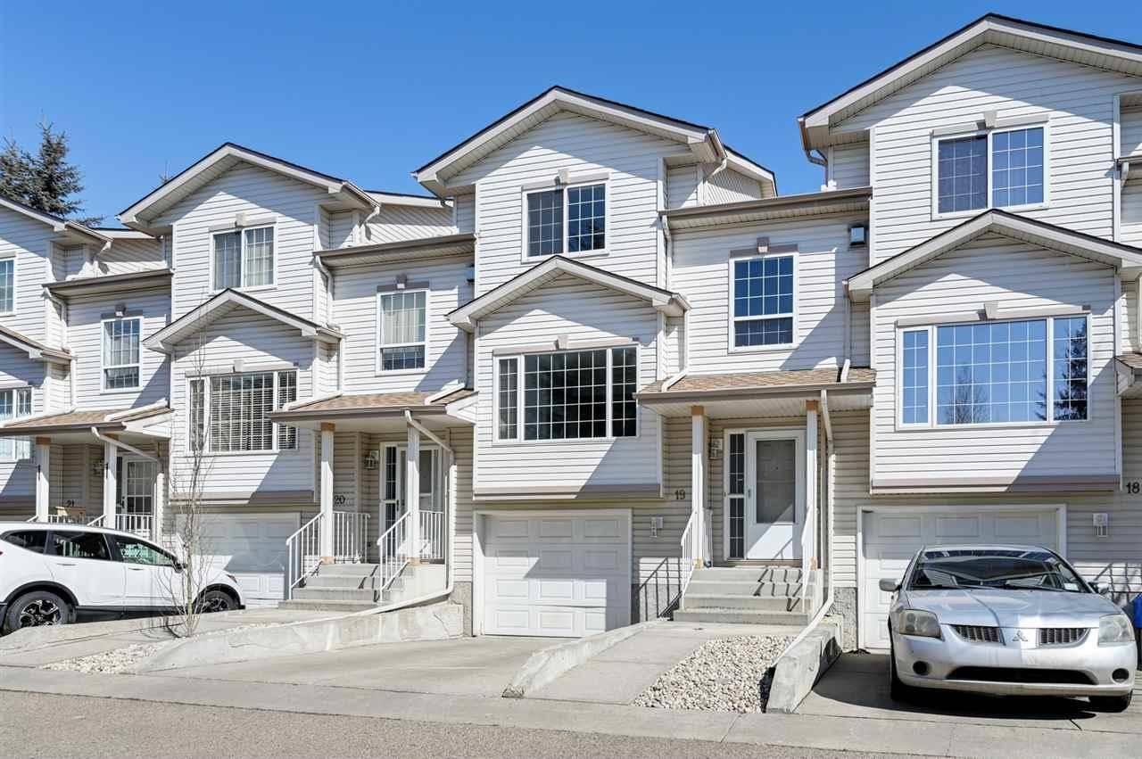 Townhouse for sale at 9935 167 St Nw Unit 19 Edmonton Alberta - MLS: E4194274
