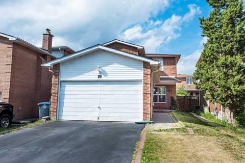 House for sale at 19 Alabaster Dr Brampton Ontario - MLS: W4550603