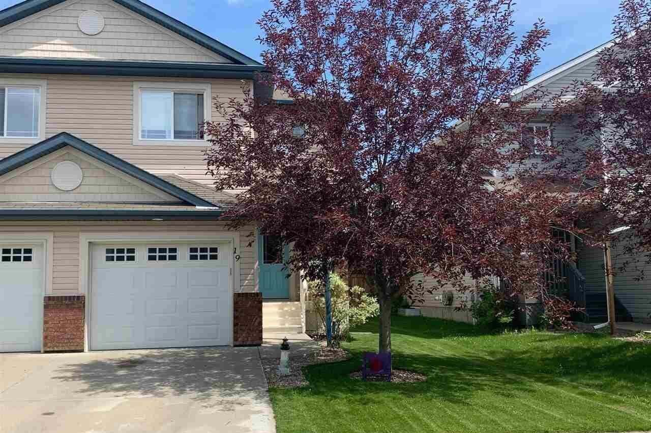 Townhouse for sale at 19 Catalina Co Fort Saskatchewan Alberta - MLS: E4205680