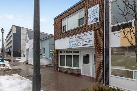 Commercial property for lease at 19 Collier St Barrie Ontario - MLS: S4724414