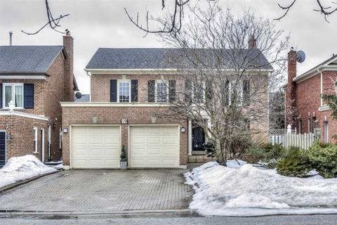 House for sale at 19 Cowles Ct Richmond Hill Ontario - MLS: N4386108