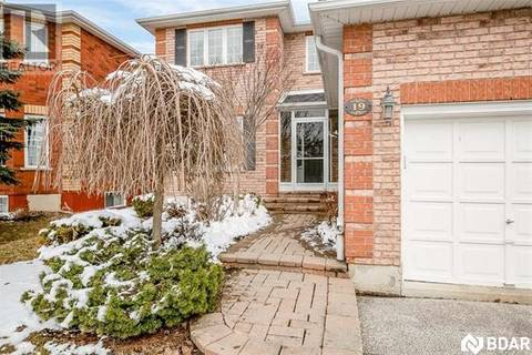 House for sale at 19 Crompton Dr Barrie Ontario - MLS: 30720050