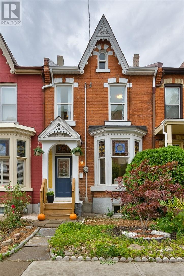For Sale: 19 East Avenue N, Hamilton, ON | 3 Bed, 3 Bath Townhouse for $371,900. See 17 photos!