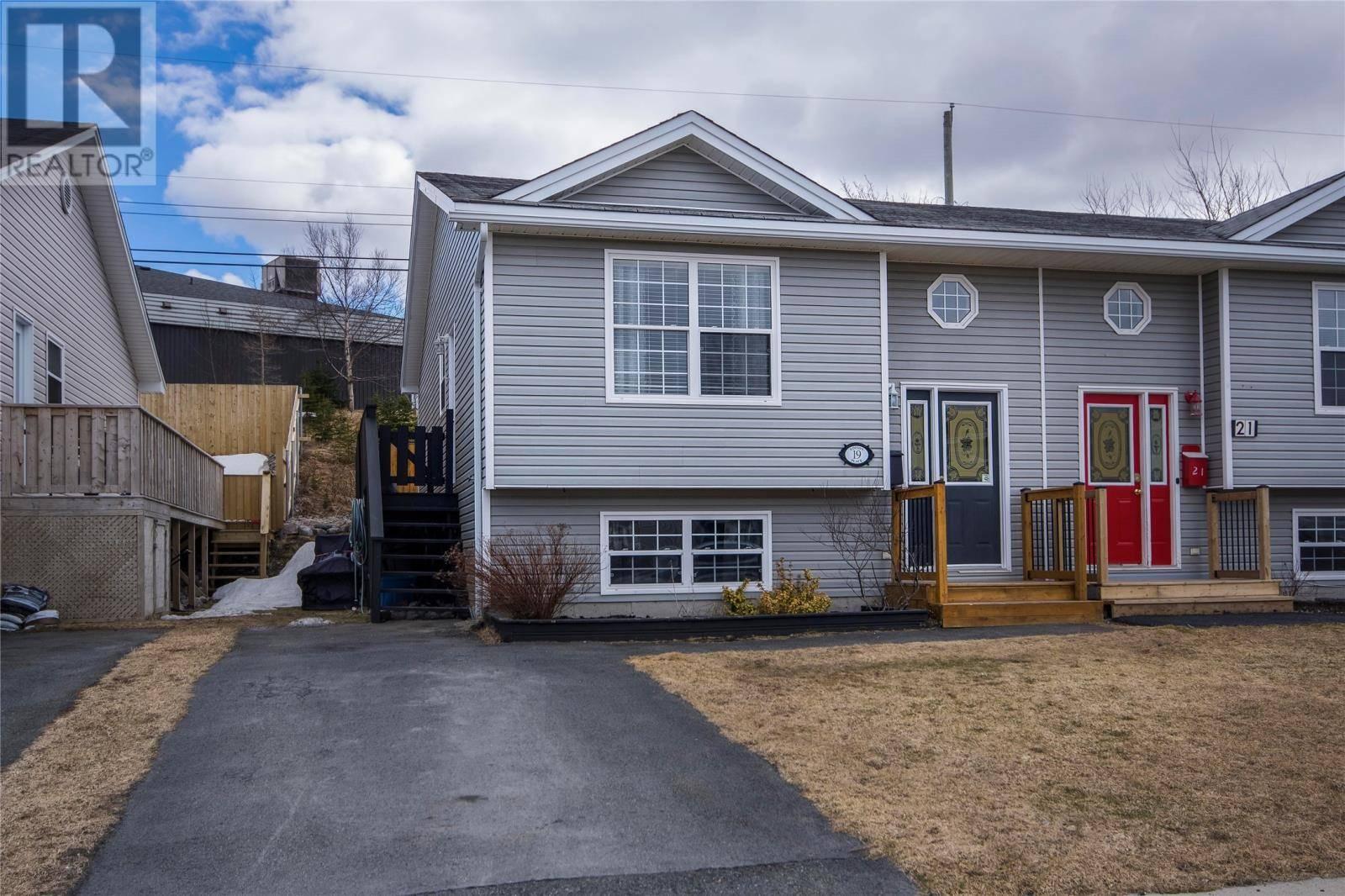 House for sale at 19 Edison Pl St. John's Newfoundland - MLS: 1205220