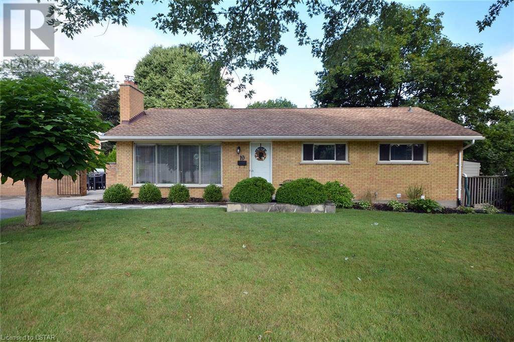 House for sale at 19 Ewald Pl London Ontario - MLS: 216953