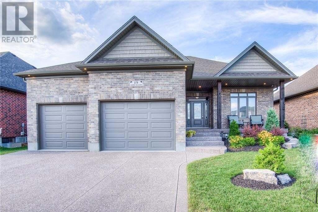 House for sale at 19 Gerber Meadows Dr Wellesley Ontario - MLS: 30822545