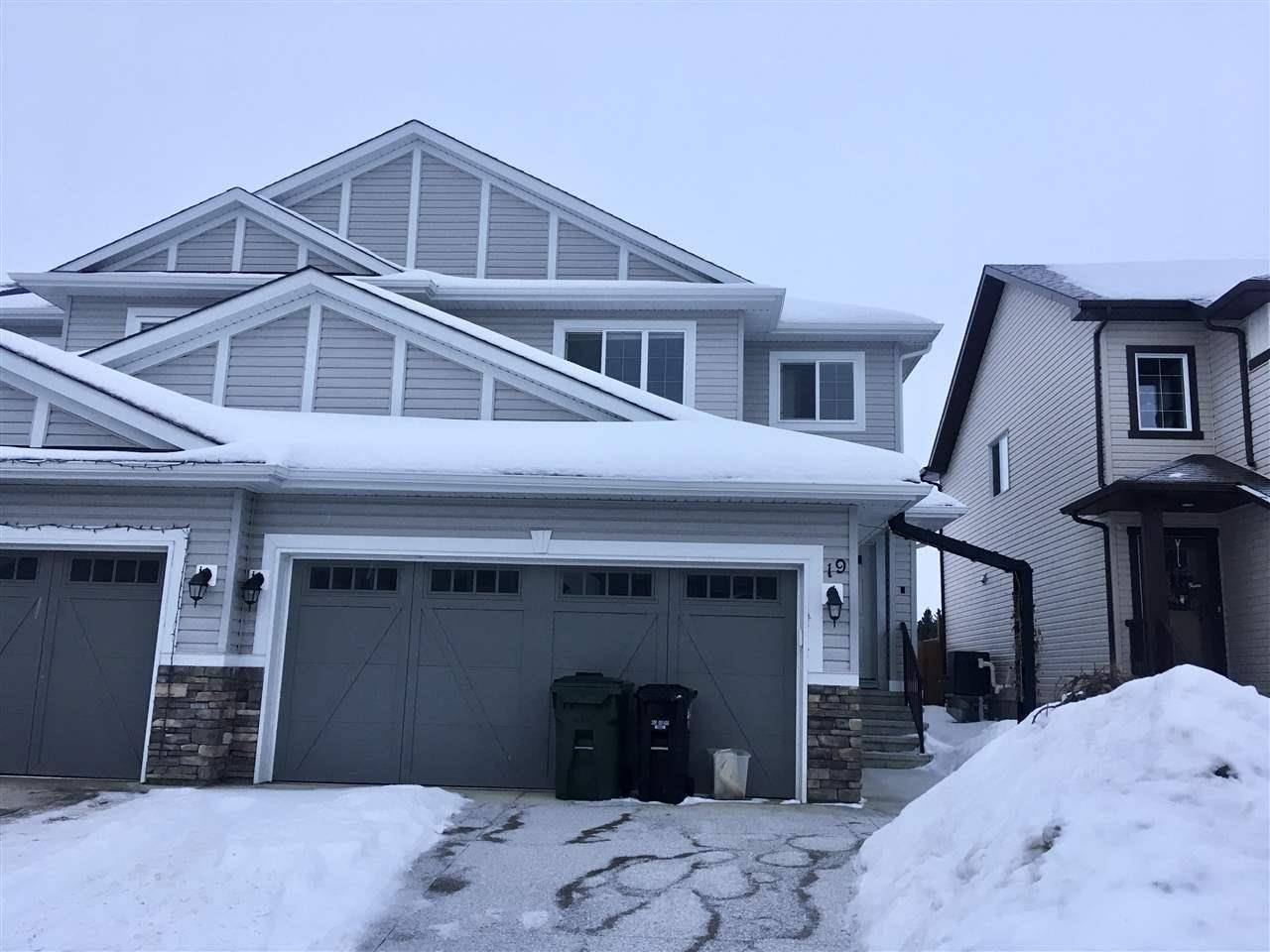 Townhouse for sale at 19 Halladay Blvd Spruce Grove Alberta - MLS: E4188905