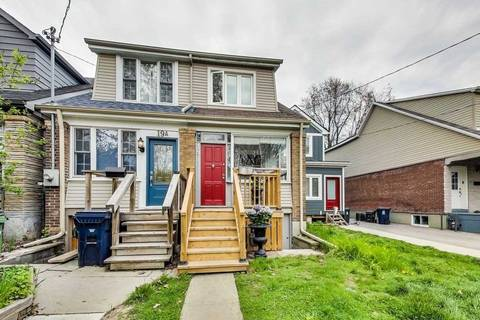 Townhouse for sale at 19 Hiawatha Rd Toronto Ontario - MLS: E4458974