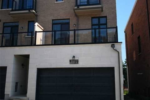 Townhouse for rent at 19 Hyderabad Ln Markham Ontario - MLS: N4508549