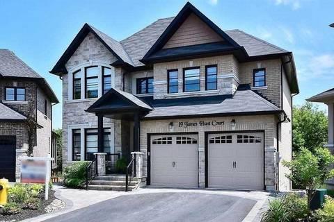 House for sale at 19 James Hunt Ct Uxbridge Ontario - MLS: N4749090