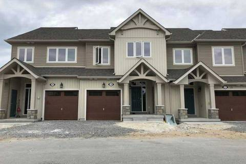 Townhouse for rent at 19 Kennedy Ave Collingwood Ontario - MLS: S4627945