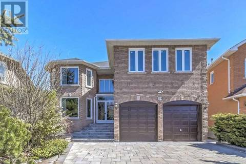 House for sale at 19 Lady Lynn Cres Richmond Hill Ontario - MLS: N4458773