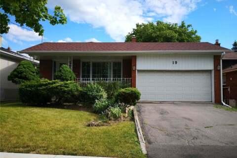 House for rent at 19 Lockmere Terr Toronto Ontario - MLS: C4800654