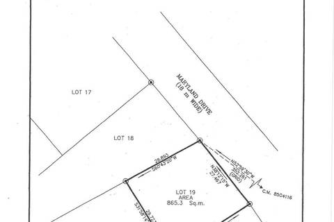 Residential property for sale at 0 Maryland Dr Unit 19 Stephenville Newfoundland - MLS: 1195548