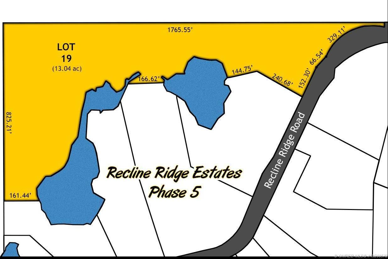 Residential property for sale at Lot 19 Recline Ridge Rd Unit 19 Tappen British Columbia - MLS: 10200572