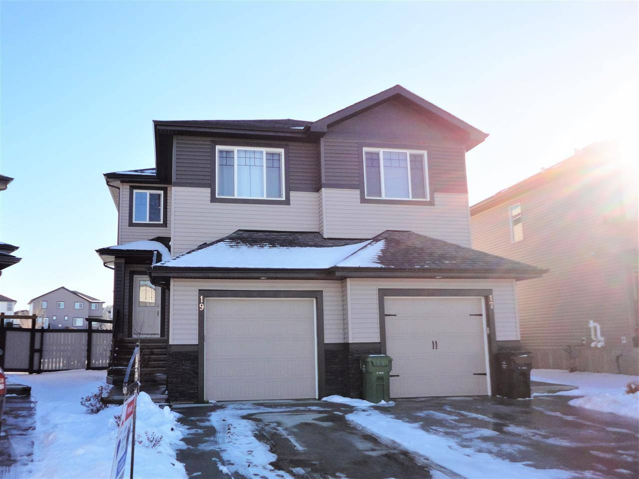 Townhouse for sale at 19 Mclean Ct Leduc Alberta - MLS: E4178056