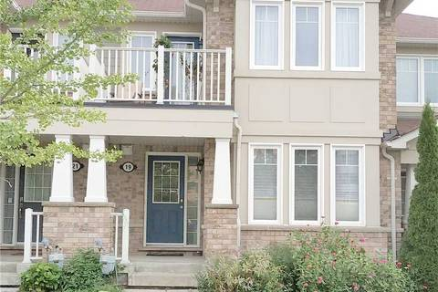 Townhouse for sale at 19 Murray Wilson Dr Markham Ontario - MLS: N4674406