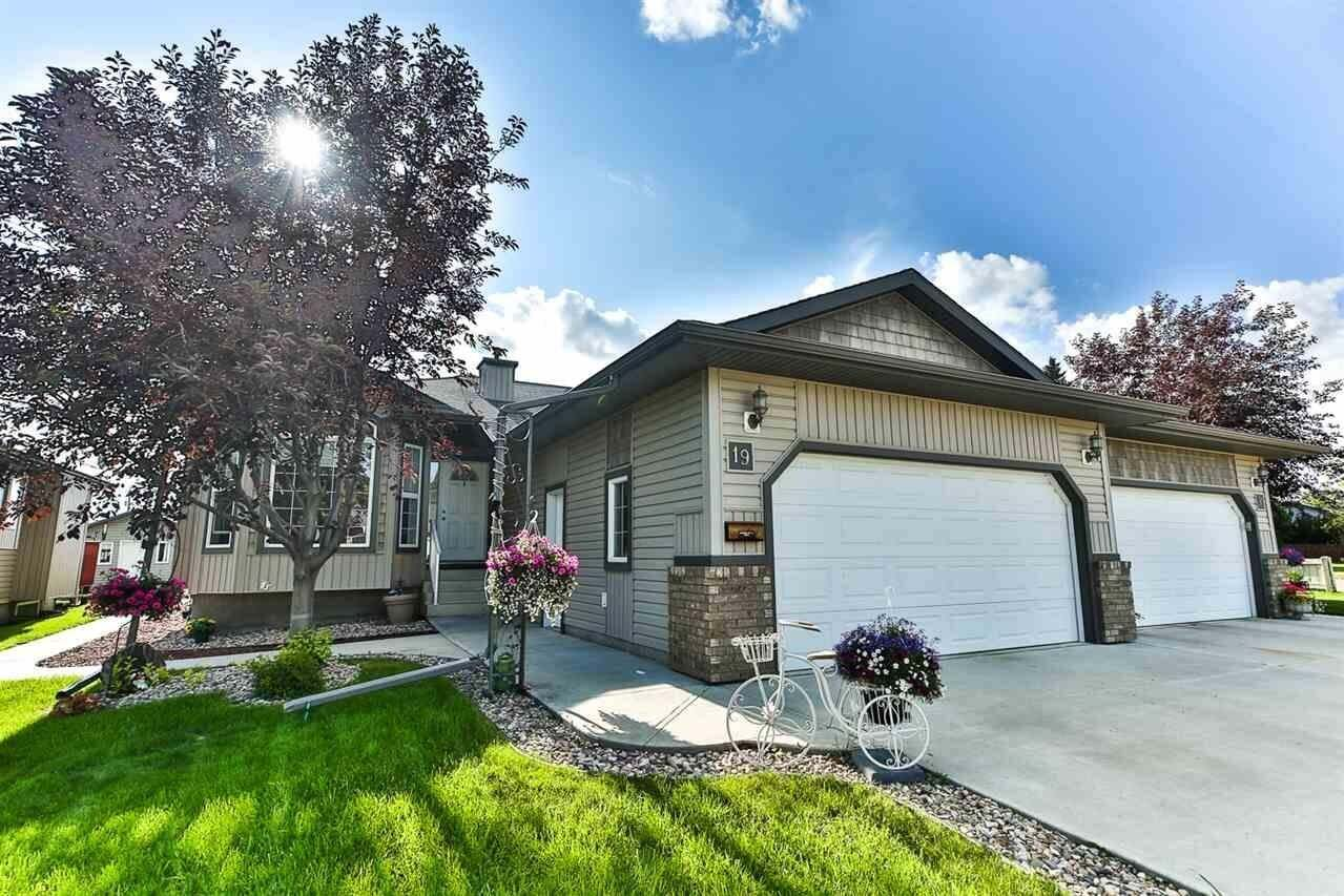 Townhouse for sale at 19 Nordal Cl Wetaskiwin Alberta - MLS: E4178245