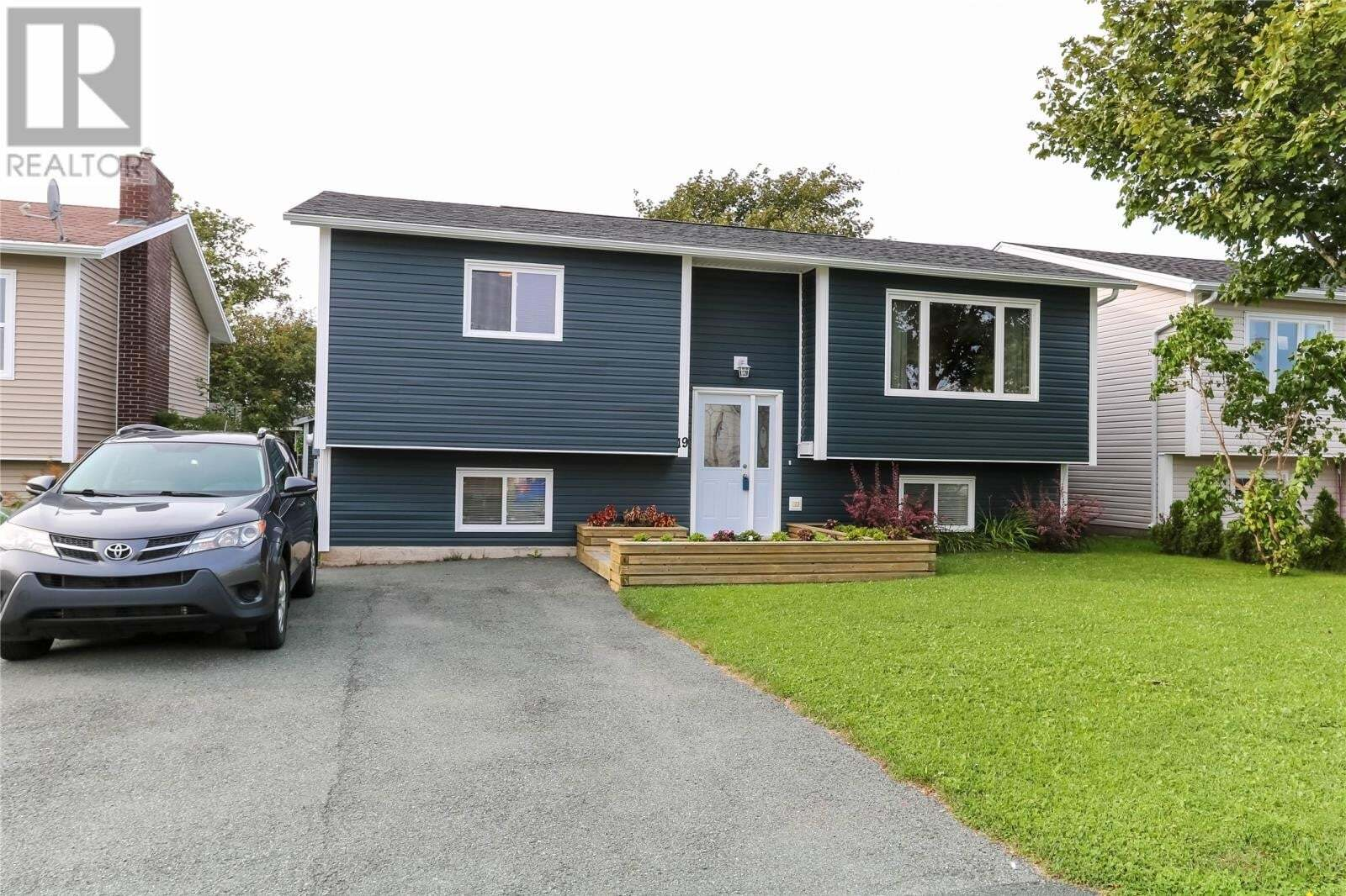 House for sale at 19 Princeton Cres Mount Pearl Newfoundland - MLS: 1221345