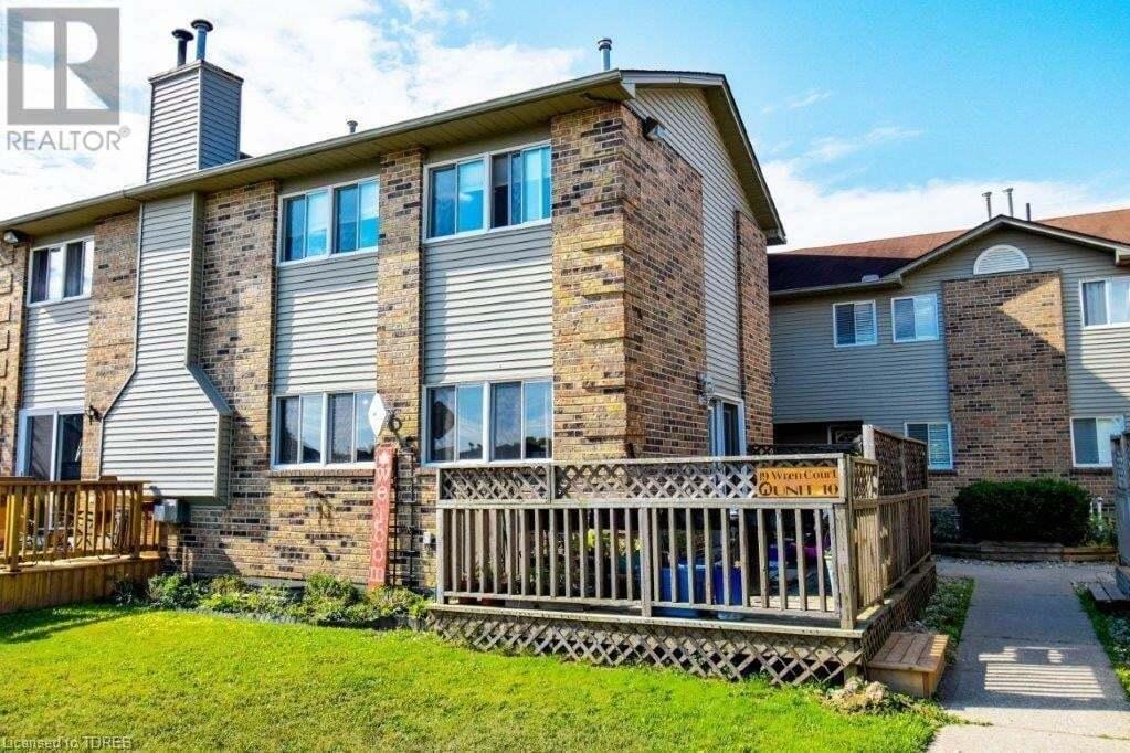 Townhouse for sale at 19 Wren Ct Tillsonburg Ontario - MLS: 40010510