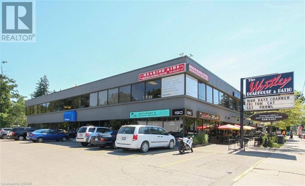 Commercial property for lease at 100 Wortley Rd Apartment 190 London Ontario - MLS: 219151