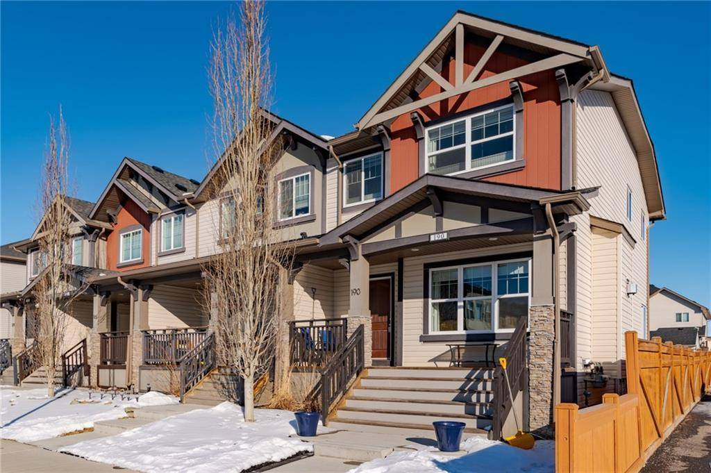 Townhouse for sale at 190 Clydesdale Wy Heartland, Cochrane Alberta - MLS: C4287714