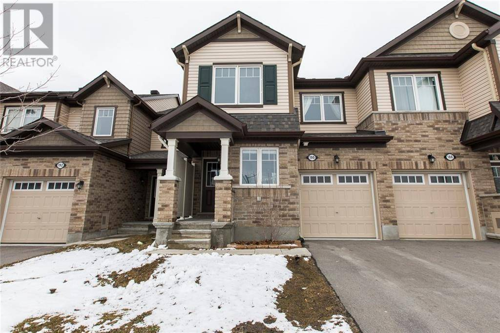 Townhouse for sale at 190 Conifer Creek Circ Ottawa Ontario - MLS: 1186894