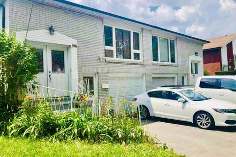 Townhouse for sale at 190 Edmonton Dr Toronto Ontario - MLS: C4530730