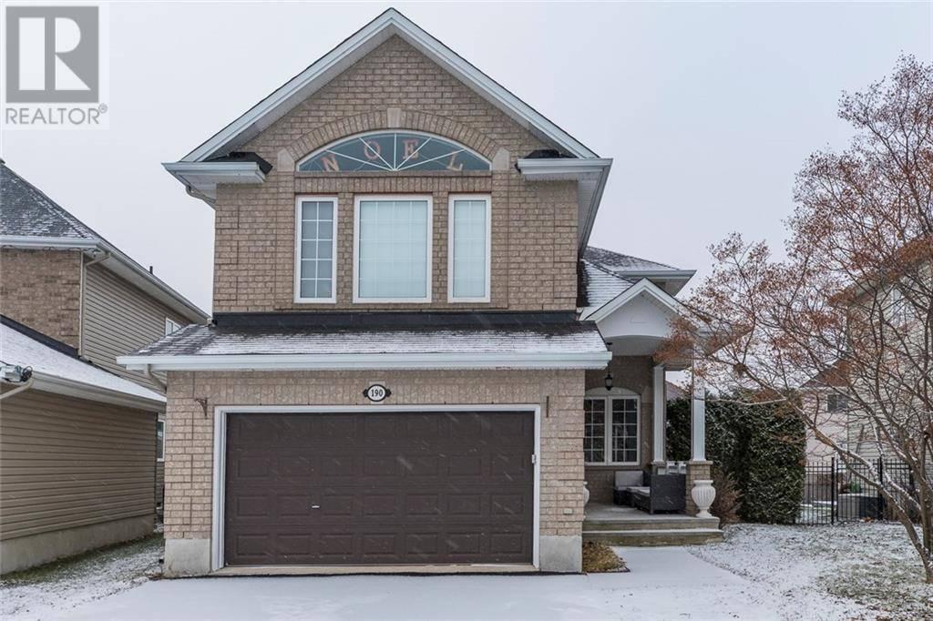 House for sale at 190 Gyrfalcon Cres Ottawa Ontario - MLS: 1172348