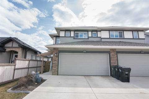 Townhouse for sale at 190 Sunterra Wy Sherwood Park Alberta - MLS: E4154840