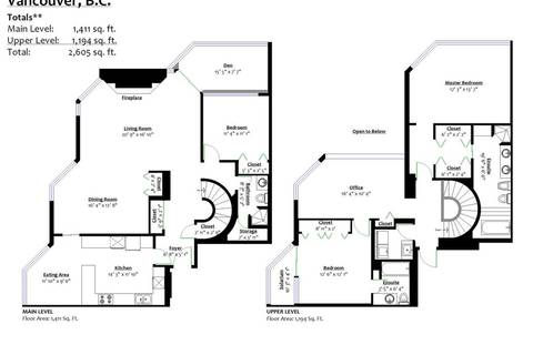 Condo for sale at 738 Broughton St Unit 1901 Vancouver British Columbia - MLS: R2396844