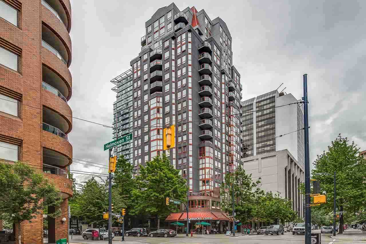 For Sale: 1903 - 811 Helmcken Street, Vancouver, BC | 2 Bed, 2 Bath Condo for $838,000. See 18 photos!